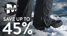 Merrell - save up to 45%