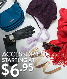 Accessories - starting at $6.95