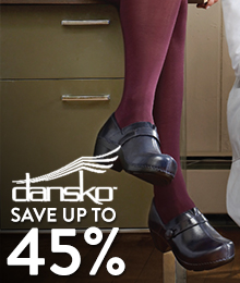 Dansko - save up to 45%