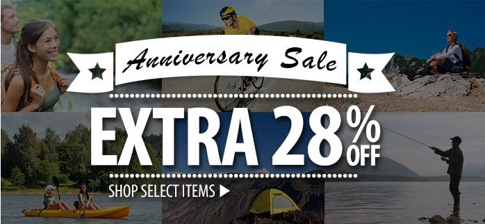 Anniversary Sale 28% Off  select items