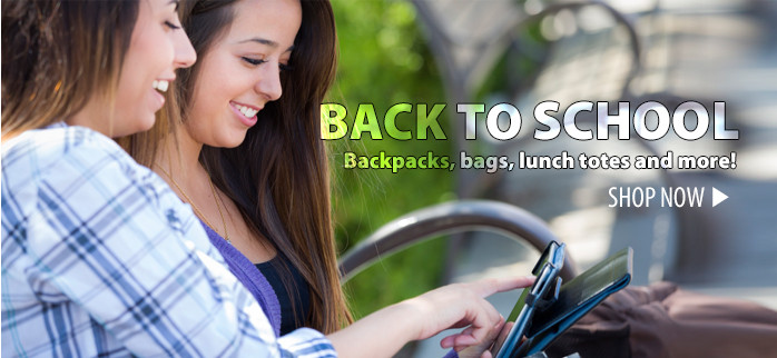 Back to School – backpacks, bags, lunch totes