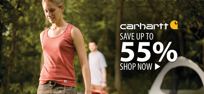 Carhartt – save up to 55%