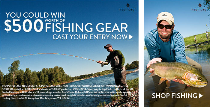 Fishing Giveaway