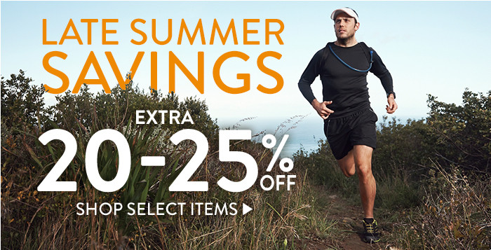 Late Summer Savings: Extra 20-25% off select items