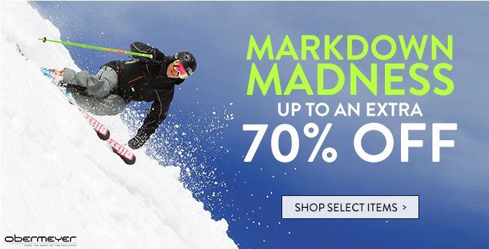 Markdown Madness: up to an extra 70% off select items
