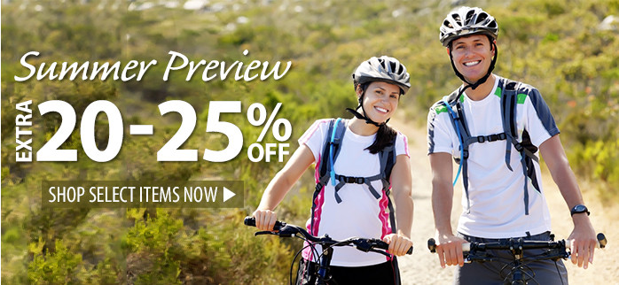 Summer Preview – extra 20-25% off