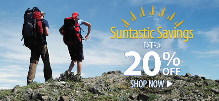 Suntastic Savings – extra 20% off