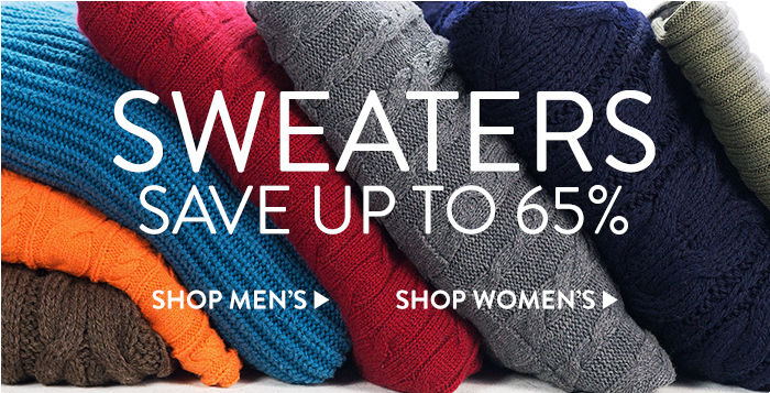 Sweaters - Save up to 65%