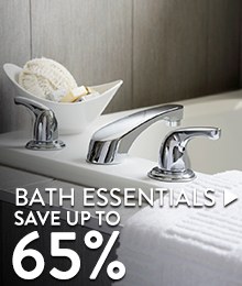 Bath Essentials – save up to 65%