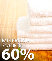 Bath Towels – save up to 60%