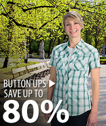 Button Up – save up to 80%