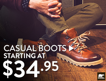 Casual Boots - starting at $34.95