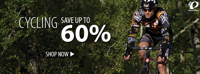 Cycling – save up to 60%