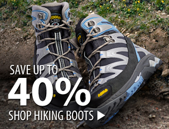 Hiking Boots – save up to 40%