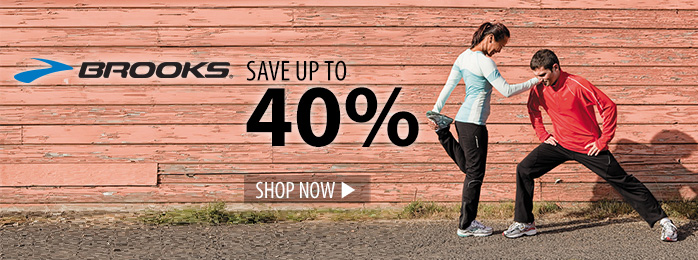 Save up to 40% on Brooks