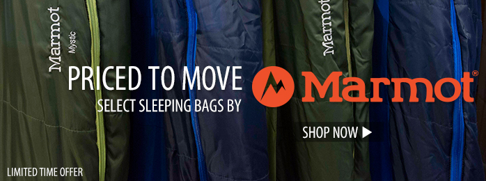 Priced to Move: Select Marmot Sleeping Bags