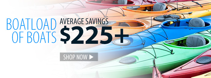 Boatload of Boats - average savings $225+