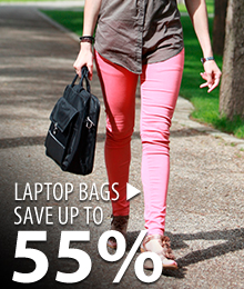 Laptop Bags – save up to 55%