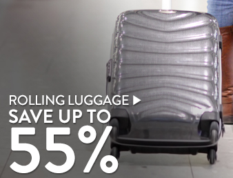 Rolling Luggage - save up to 55%