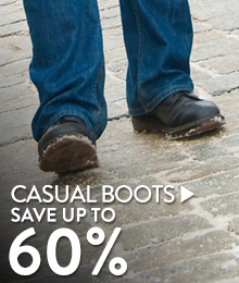 Casual Boots - save up to 60%