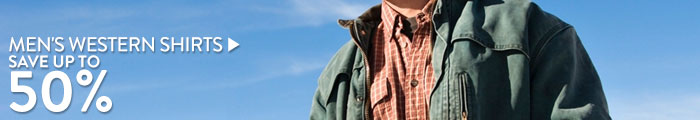 Men's Western Shirts - save up to 50%