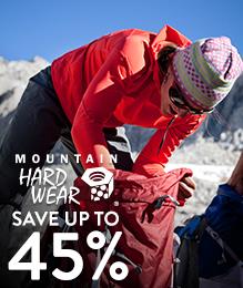 Mountain Hardwear - save up to 45%