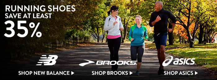 Running Shoes - save at least 35%