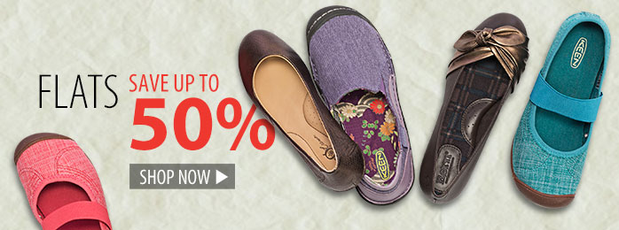 Flats – save up to 50%