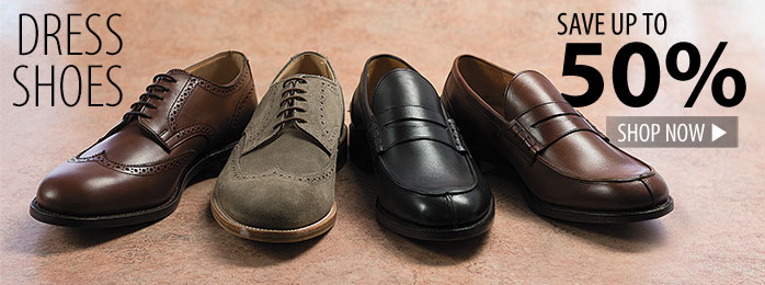 Dress Shoes – save up to 50%