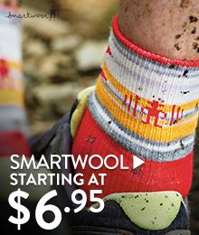 SmartWool - starting at $6.95