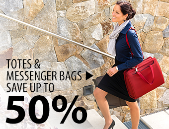 Totes & Messengers – save up to 50%