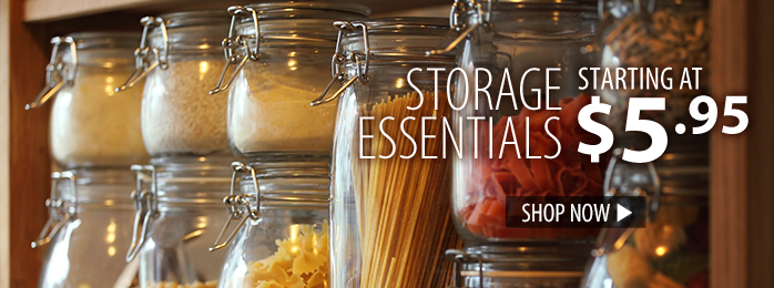 Storage Essentials – starting at $5.95