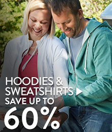 Hoodies & Sweatshirts - save up to 60%