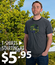 T-shirts – starting at $5.95
