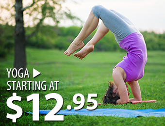 Yoga – starting at 12.95