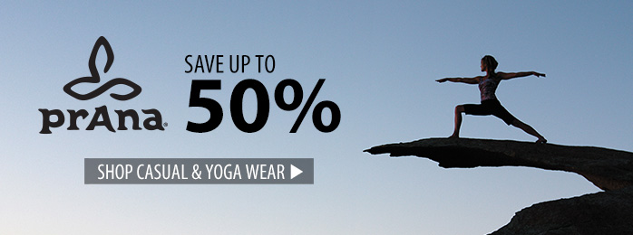 Prana - save up to 50%