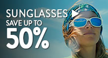 Sunglasses – save up to 50%