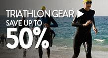 Triathlon Gear – save up to 50%