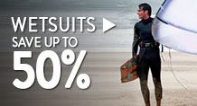 Wetsuits – save up to 50%