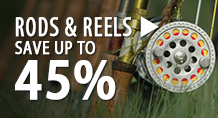 Rods & Reels – save up to 45%