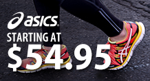 Asics - Starting at $54.95