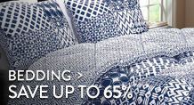 Bedding - save up to 65%