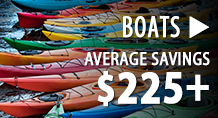 Boats - average savings $225+
