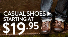 Casual Shoes - save up to 60%