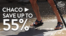 Chaco – save up to 55%