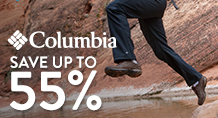 Columbia – Save up to 55%
