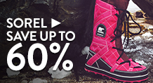 Sorel - save up to 60%