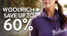 Woolrich - save up to 60%