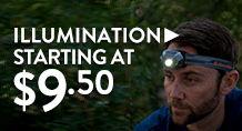Illumination- starting at $9.50