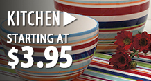 Kitchen - starting at $3.95